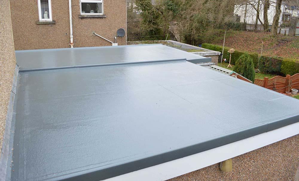 flat roofing fibreglass walsall
