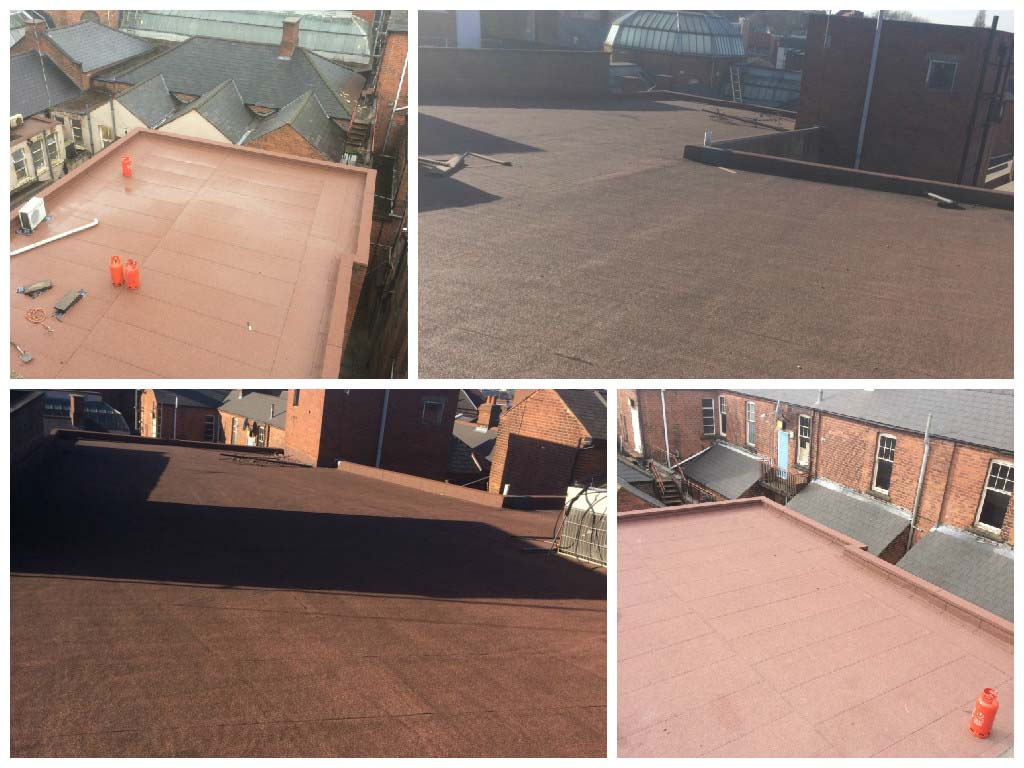 Flat Roofing Felt And Rubber Systems Walsall And West